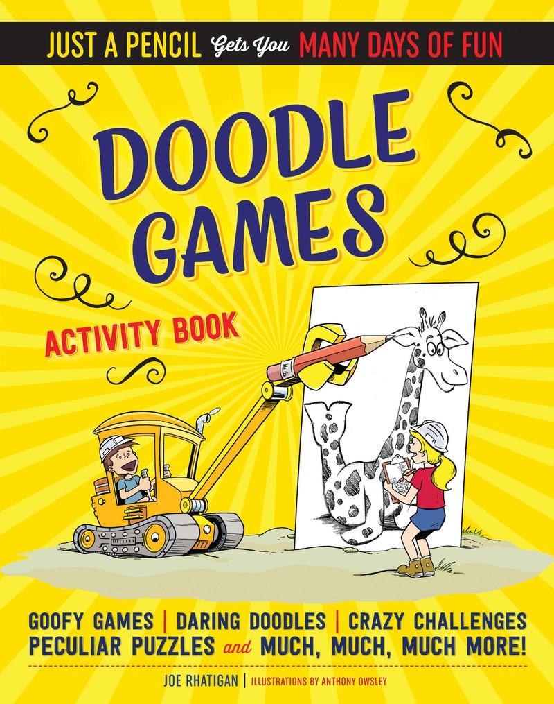 Doodle Games Activity Book - Jacket