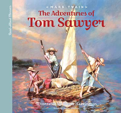 Read-Aloud Classics: The Adventures of Tom Sawyer - Jacket