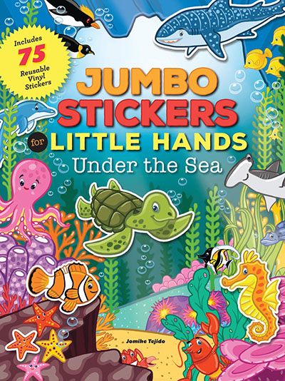 Jumbo Stickers for Little Hands: Under the Sea - Jacket