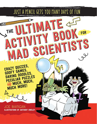 The Ultimate Activity Book for Mad Scientists - Jacket