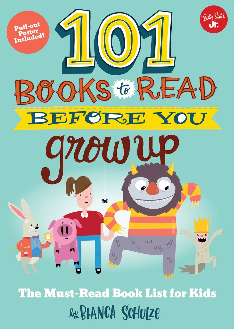 101 Books to Read Before You Grow Up - Jacket
