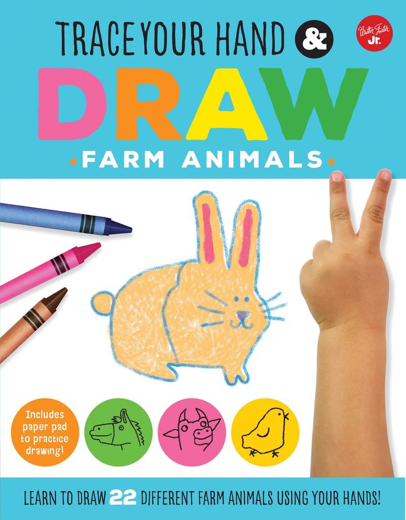 Trace Your Hand & Draw: Farm Animals - Jacket