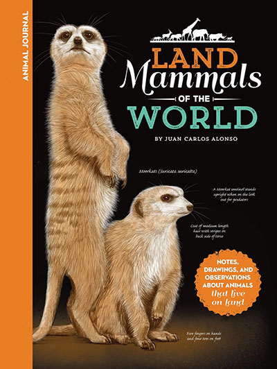 Animal Journal: Land Mammals of the World - Jacket