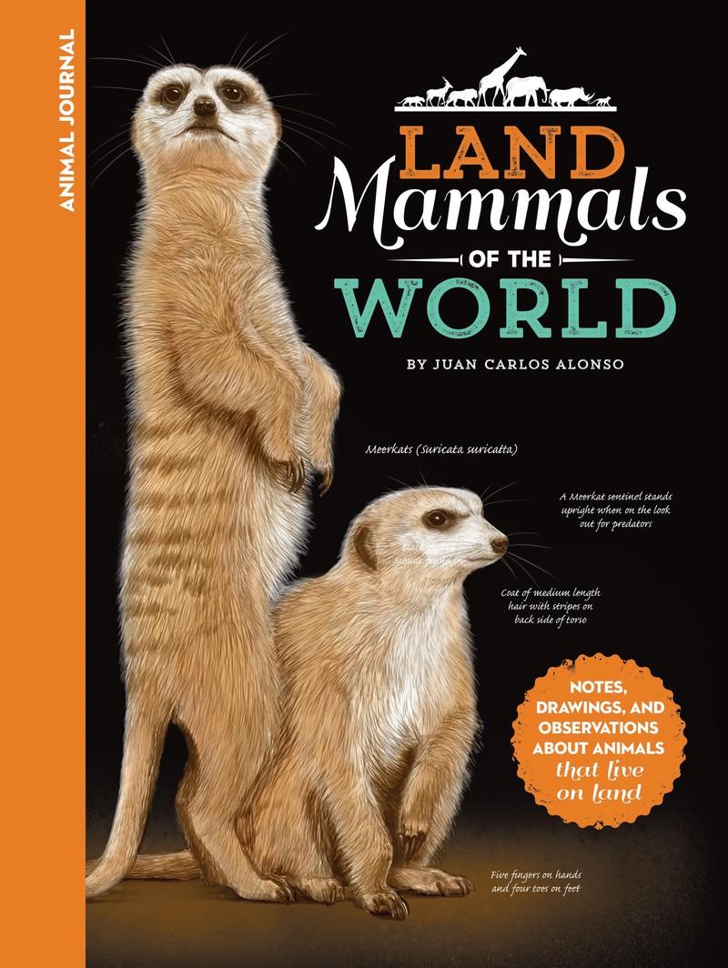 Animal Journal: Land Mammals of the World - Jacket