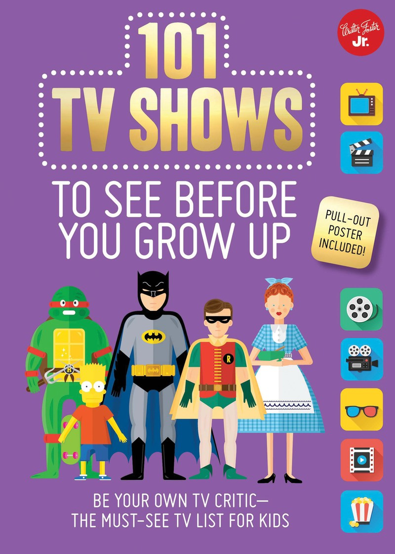 101 TV Shows to See Before You Grow Up - Jacket