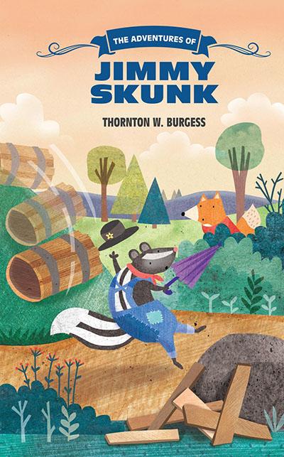 The Adventures of Jimmy Skunk - Jacket
