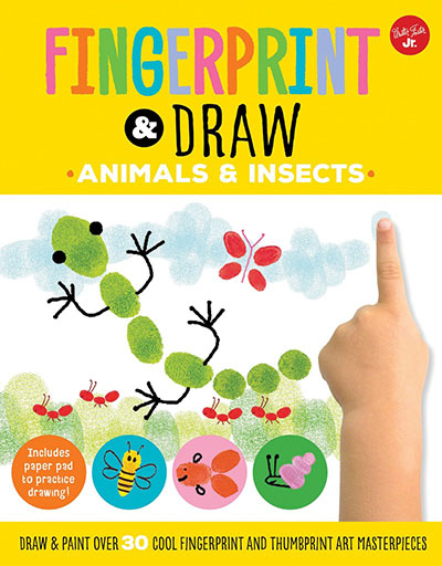 Fingerprint & Draw: Animals & Insects - Jacket