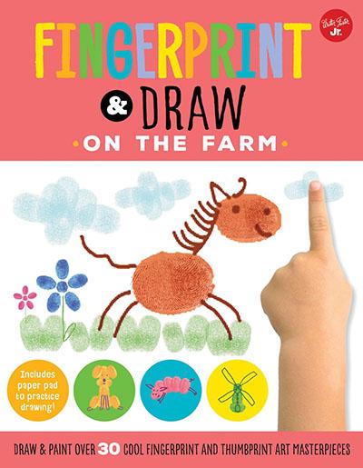 Fingerprint & Draw: On the Farm - Jacket