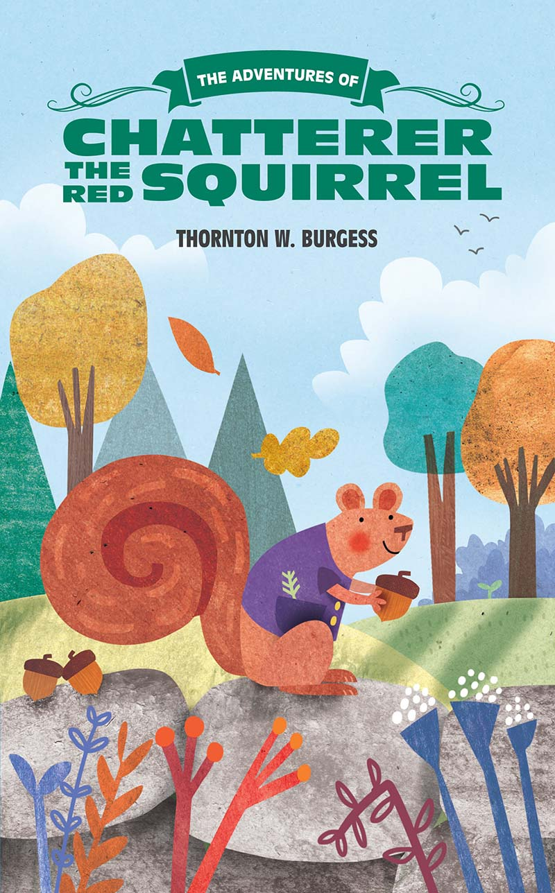 The Adventures of Chatterer the Red Squirrel - Jacket