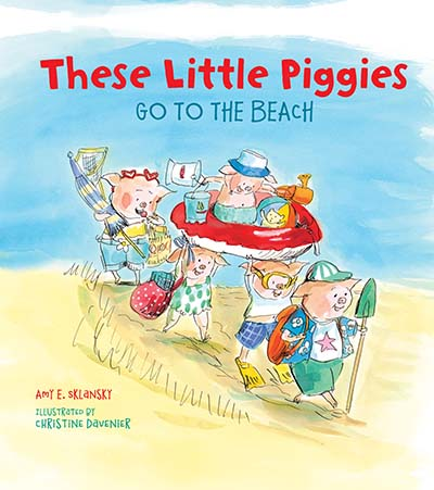 These Little Piggies Go to the Beach - Jacket