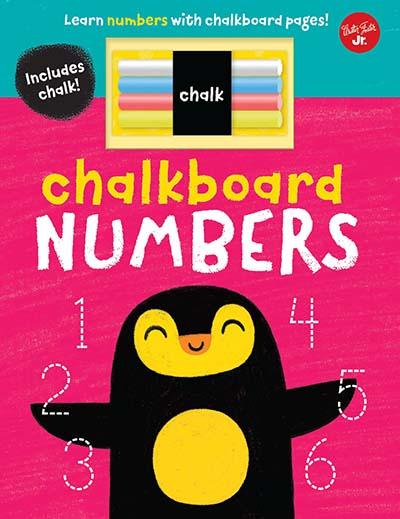 Chalkboard Numbers - Jacket