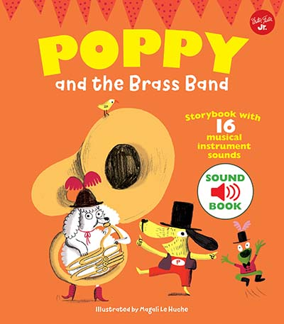 Poppy and the Brass Band - Jacket