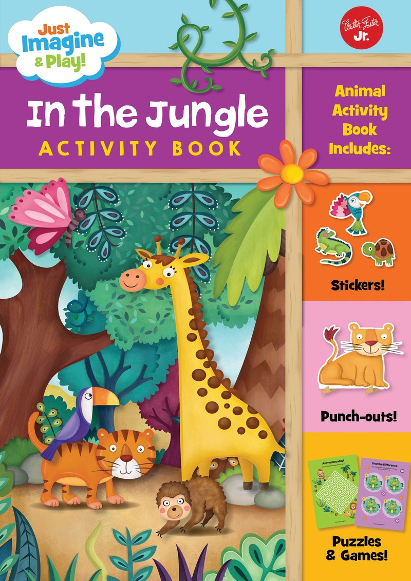 Just Imagine & Play! In the Jungle - Jacket