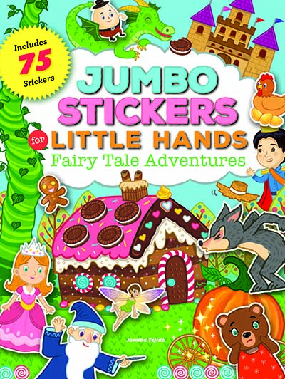 Jumbo Stickers for Little Hands: Fairy Tale Adventures - Jacket