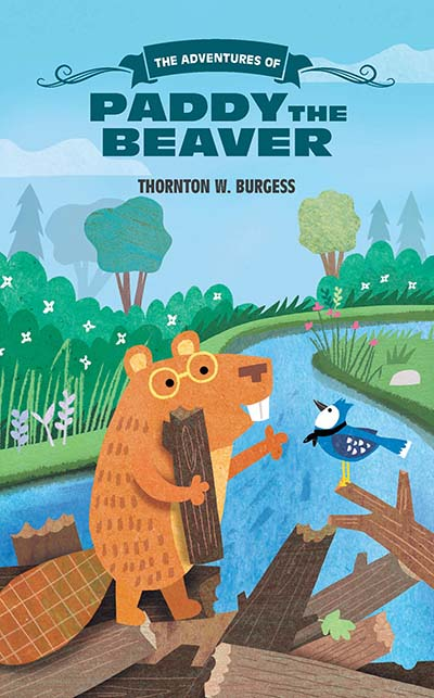 The Adventures of Paddy the Beaver - Jacket