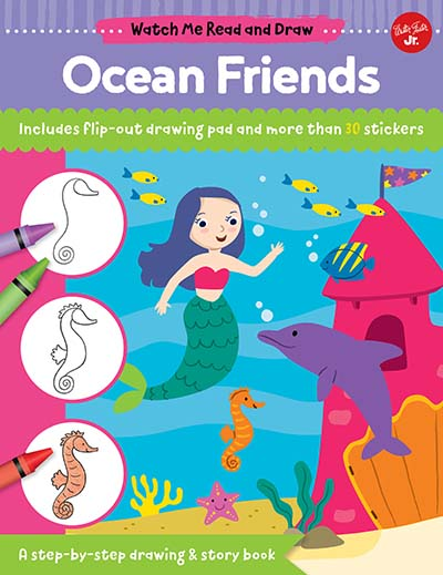 Watch Me Read and Draw: Ocean Friends - Jacket