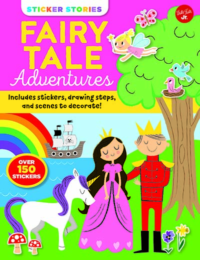 Sticker Stories: Fairy Tale Adventures - Jacket