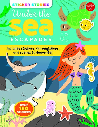 Sticker Stories: Under the Sea Escapades - Jacket