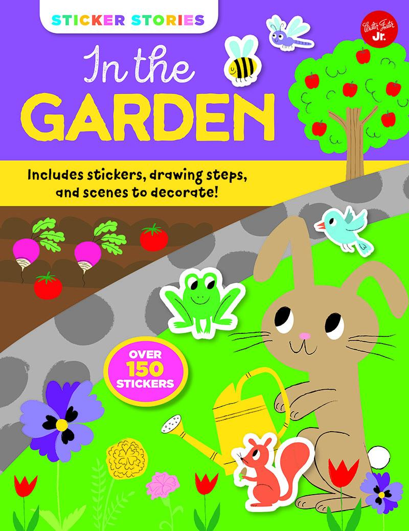 Sticker Stories: In the Garden - Jacket