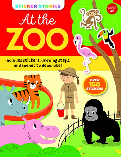 Sticker Stories: At the Zoo - Jacket