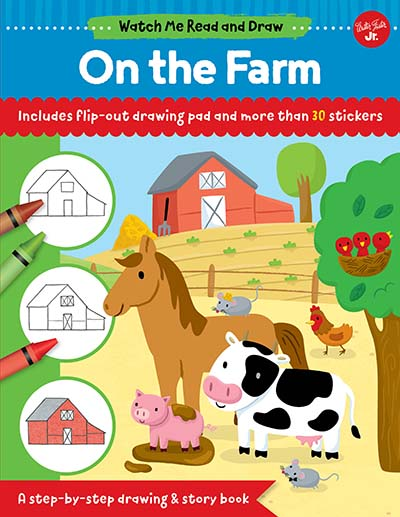 Watch Me Read and Draw: On the Farm - Jacket