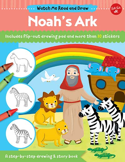 Watch Me Read and Draw: Noah's Ark - Jacket