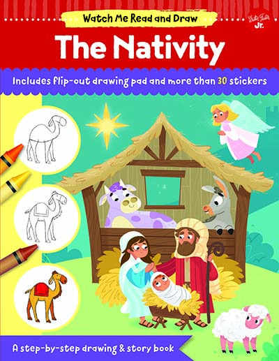Watch Me Read and Draw: The Nativity - Jacket