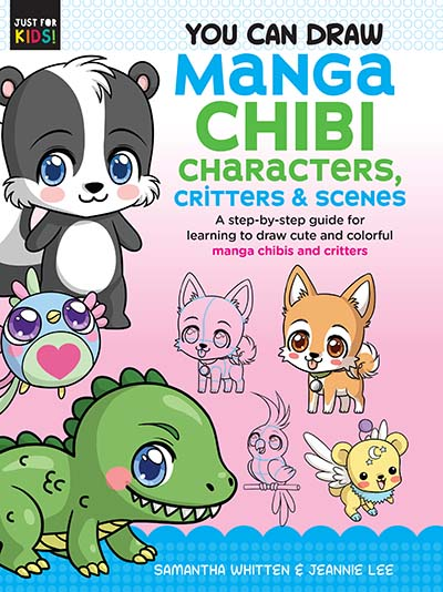 You Can Draw Manga Chibi Characters, Critters & Scenes - Jacket