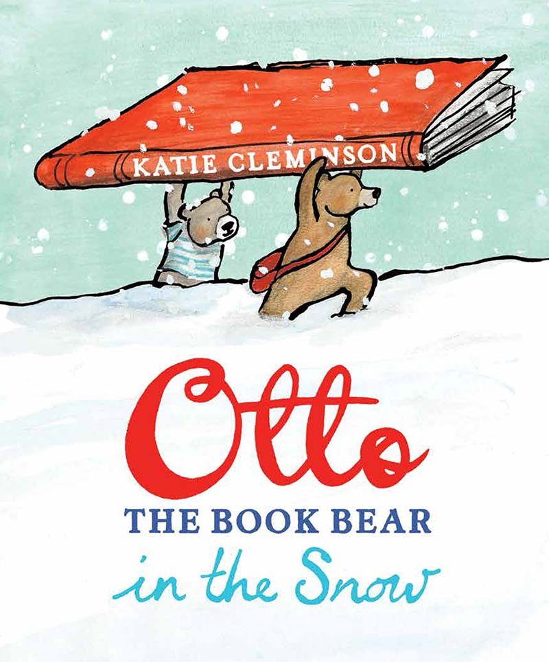 Otto the Book Bear in the Snow - Jacket
