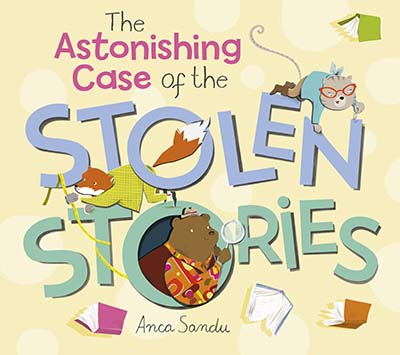 The Astonishing Case of the Stolen Stories - Jacket