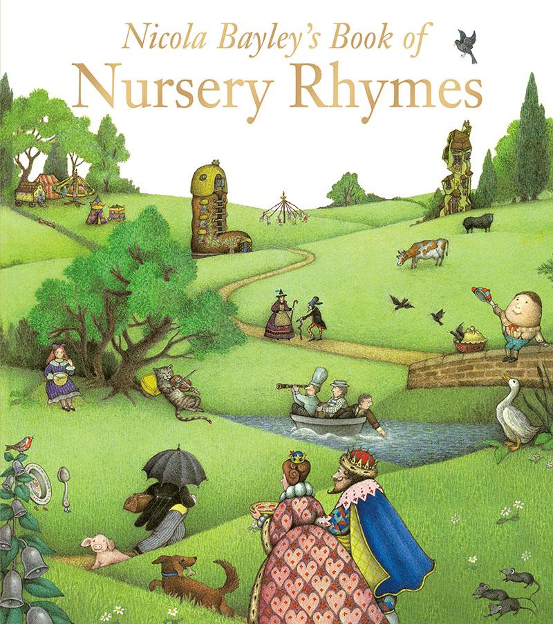 Nicola Bayley's Book Of Nursery Rhymes - Jacket