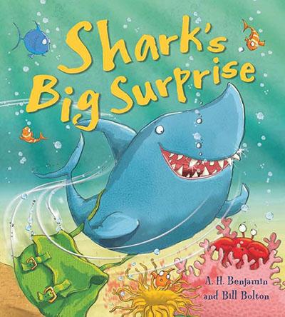 Shark's Big Surprise - Jacket