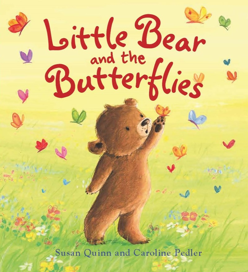 Little Bear and the Butterflies - Jacket