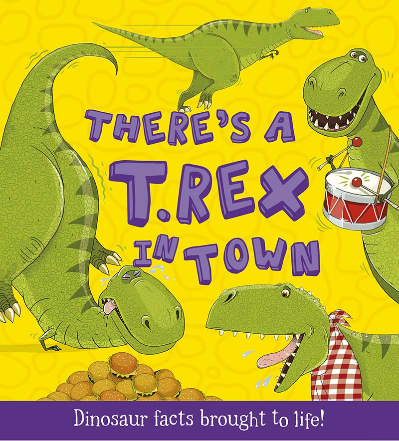 There's a T-Rex in Town - Jacket