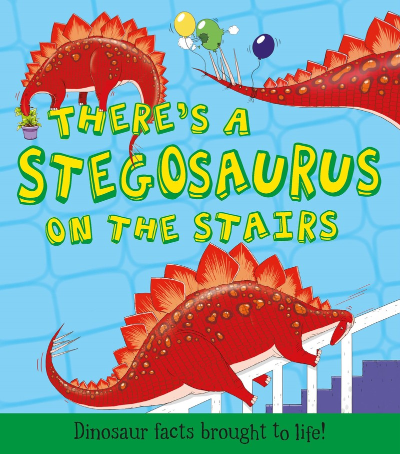 There's a Stegosaurus on the Stairs - Jacket