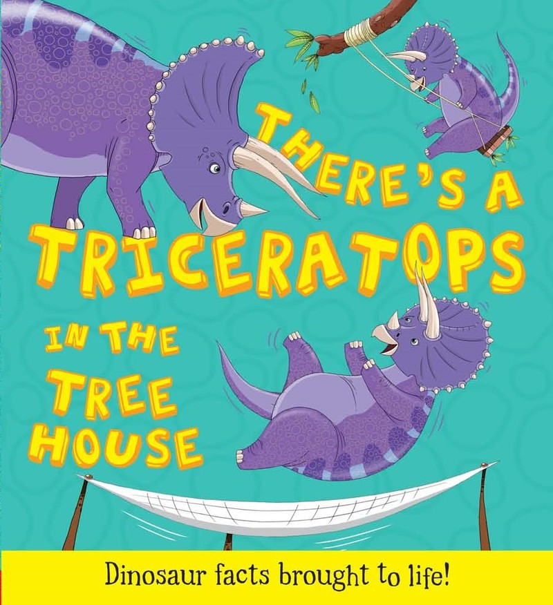 There's a Triceratops in the Tree House - Jacket