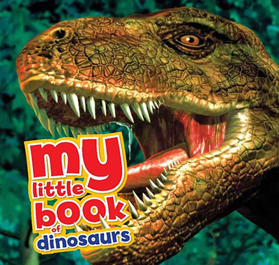 My Little Book of Dinosaurs - Jacket