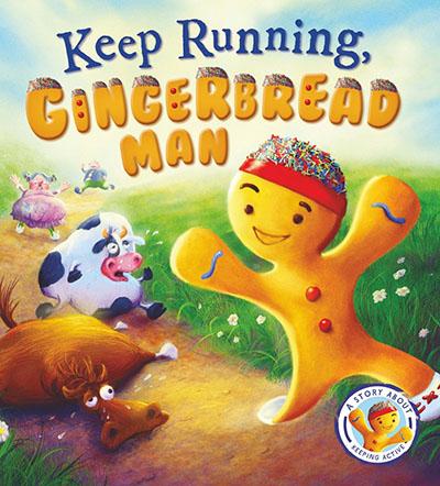 Keep Running Gingerbread Man - Jacket