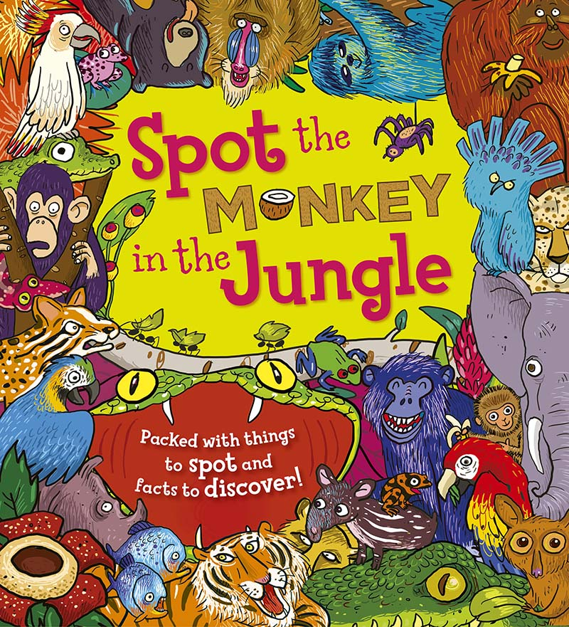 Spot the Monkey in the Jungle - Jacket
