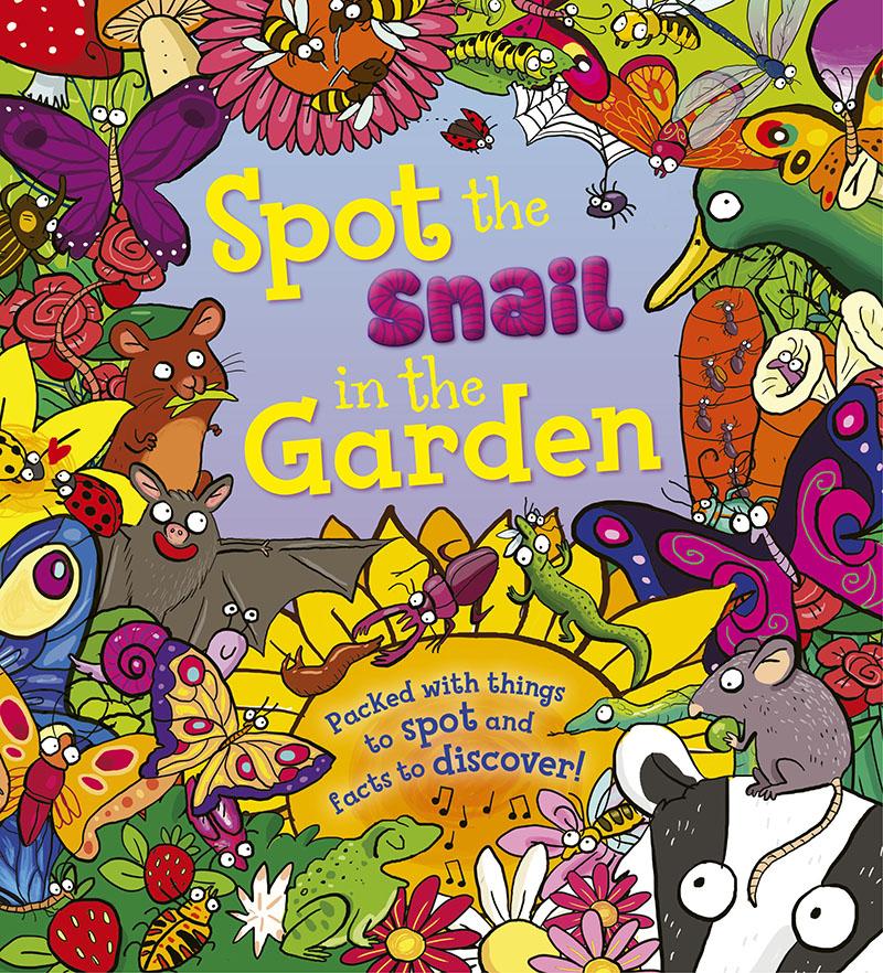 Spot the Snail in the Garden - Jacket