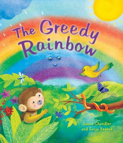 The Greedy Rainbow - Jacket