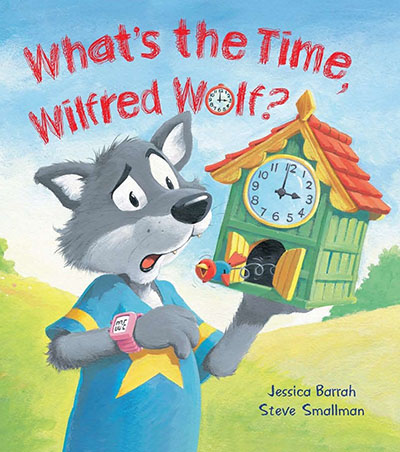 What's the Time, Wilfred Wolf? - Jacket