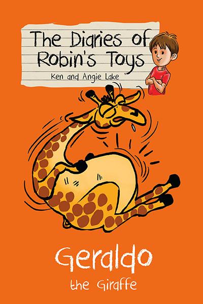 The Diaries of Robin's Toys - Geraldo the Giraffe - Jacket