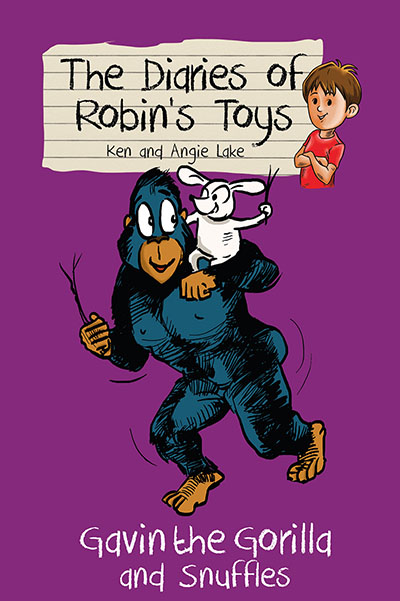 The Diaries of Robin's Toys - Gavin the Gorilla and Snuffles - Jacket