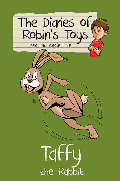 The Diaries of Robin's Toys - Taffy the Rabbit - Jacket