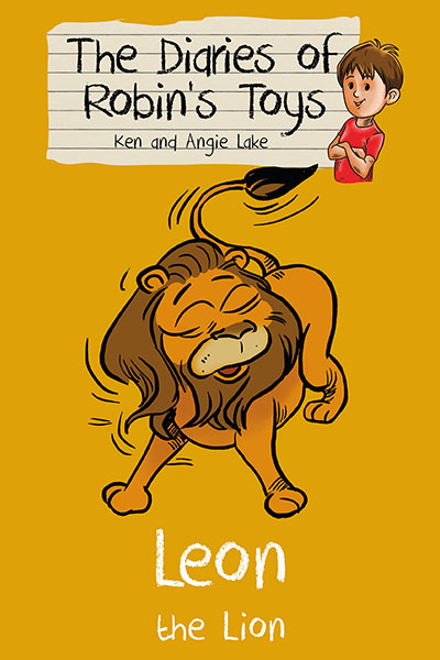 The Diaries of Robin's Toys - Leon the Lion - Jacket