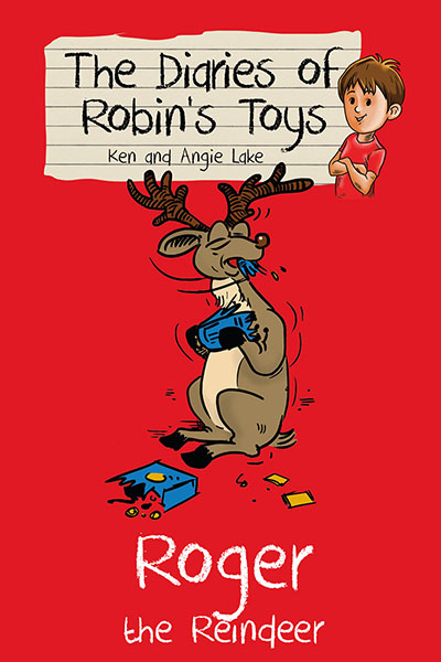 The Diaries of Robin's Toys - Roger the Reindeer - Jacket