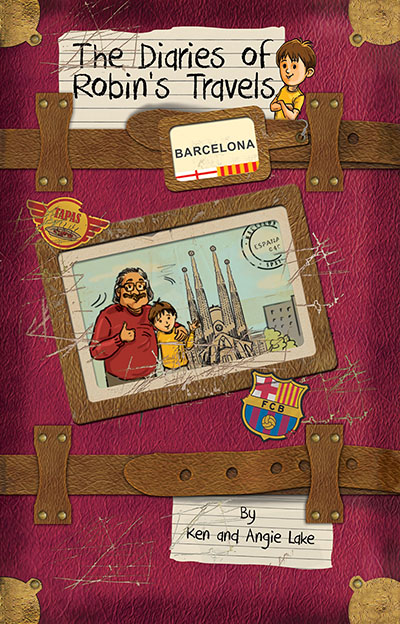The Diaries of Robin's Travels - Barcelona - Jacket
