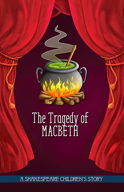 20 Children's Shakespeare Stories - The Tragedy of Macbeth - Jacket
