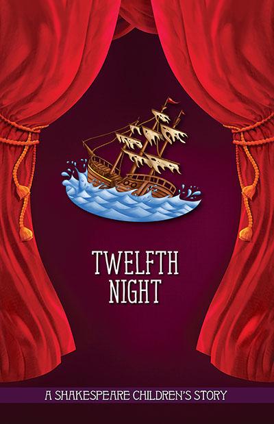 20 Children's Shakespeare Stories - Twelfth Night - Jacket